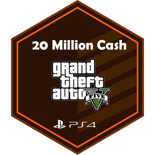 20mil add money PS4