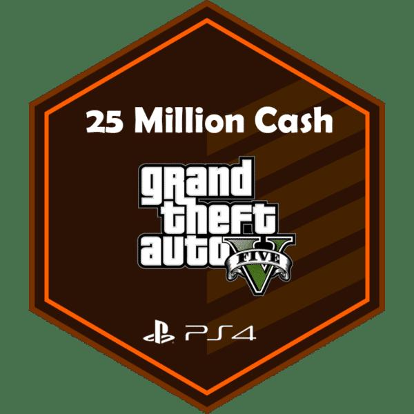 25mil add money ps4
