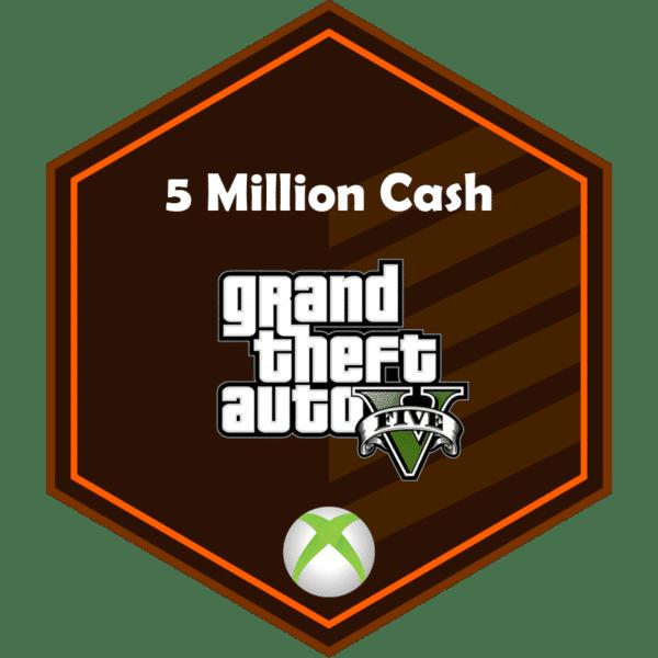 5mil add money