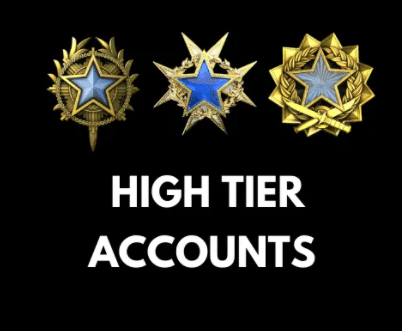 high tier accounts